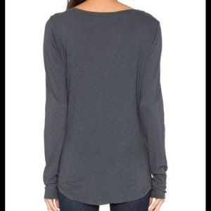 Michael Stars Gray long sleeve light sweater